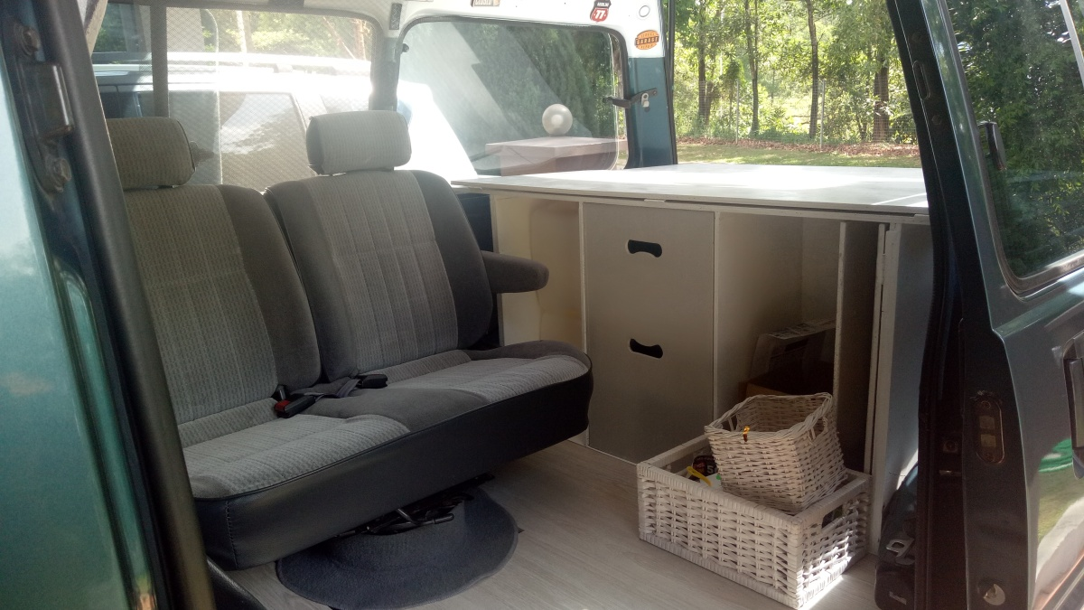 Campervan Conversion Carpentry